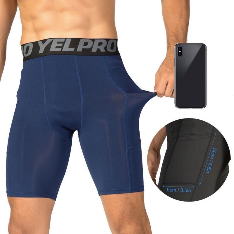 3Pcs Men Compression Running Shorts Comfort Training Marathon Quick Dry Fitness Gym Sport Active Workout Underwear