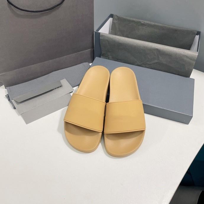 Women Summer Leather Weaving Beach Slippers Toe Flat Heel Sandals Elegant Sexy Outdoor Slides Women's Shoes 2021 New