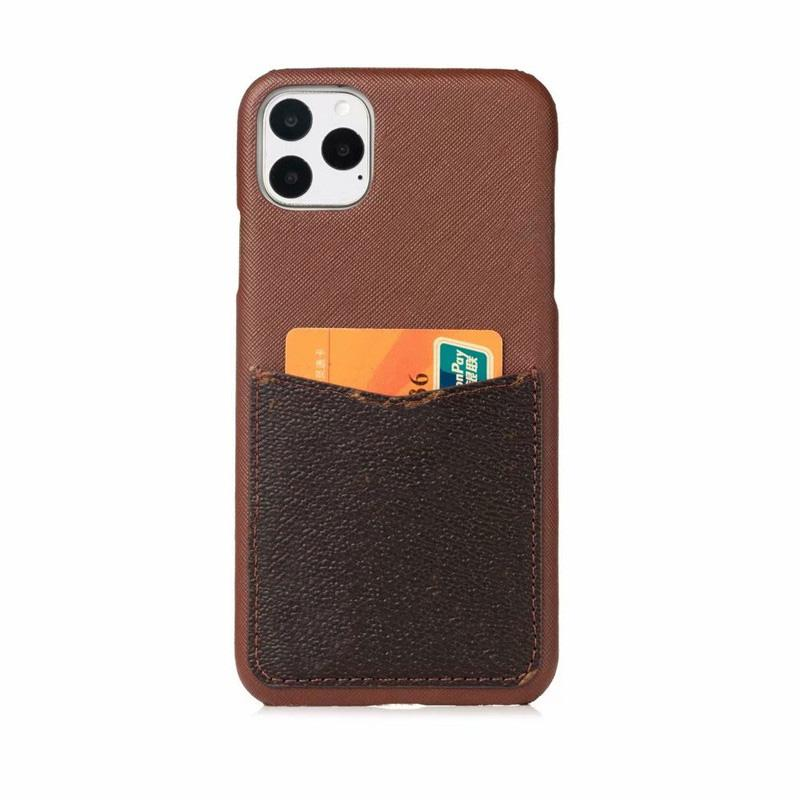탑 패션 디럭스 전화 케이스 아이폰 11 12 13 Pro max xs xr xsmax 7 8 플러스 고품질 가죽 카드 포켓 디자이너 핸드폰 커버
