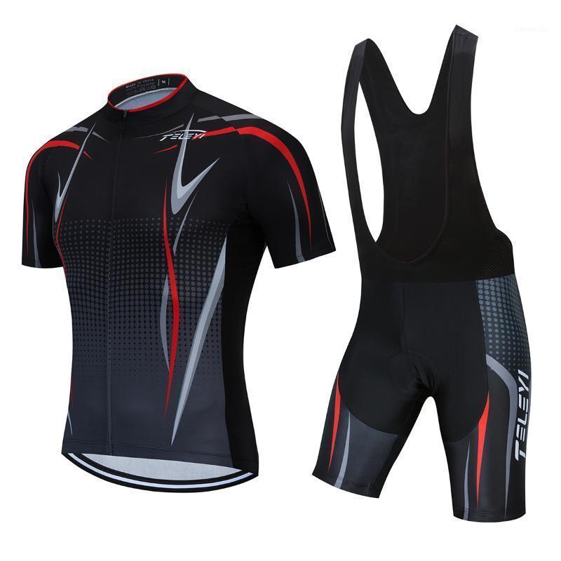 Hommes 2021 Vêtements de VTT Vêtements de vélo Kits de vélo Kits de vélo Vélo Uniformes robe tenue tenue VTT Jersey Wear Riding Triathlon costume1