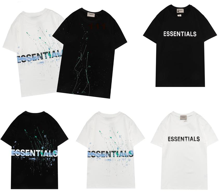2021 Spring Summer Men S Tee Man And Woman Cotton Shirt Designer Top Hip Hop Fashion Shirts Loose Unisex Mens Women Tops Oversize Comfortable Fog Models