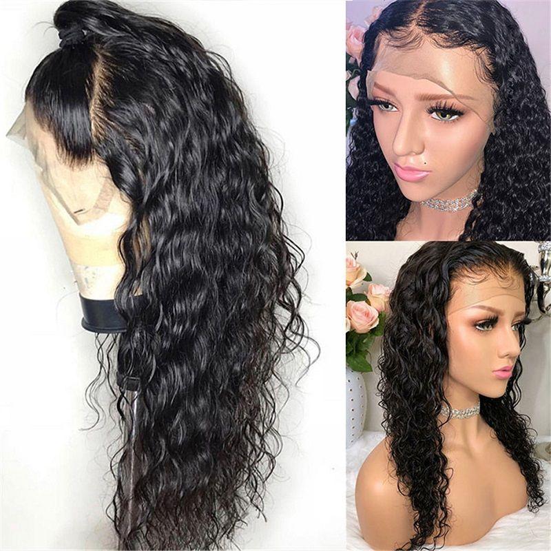 Perruque de cheveux humains brésiliens perruque frontale