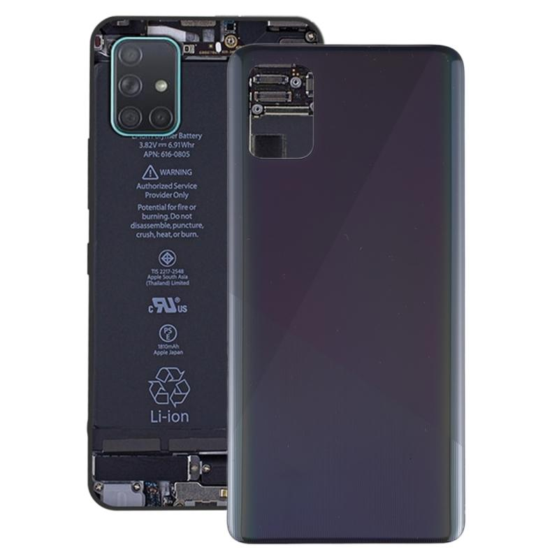 Muhafazalar Galaxy A51 için Orijinal Pil Arka Kapak