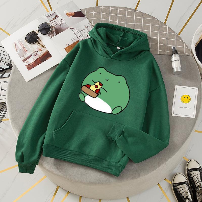 Hoodies das mulheres moletom camisas vintage camisola Mulheres Moletom Kawaii que imprimem o hoodie preto imprimido comfy bonito mais mulheres
