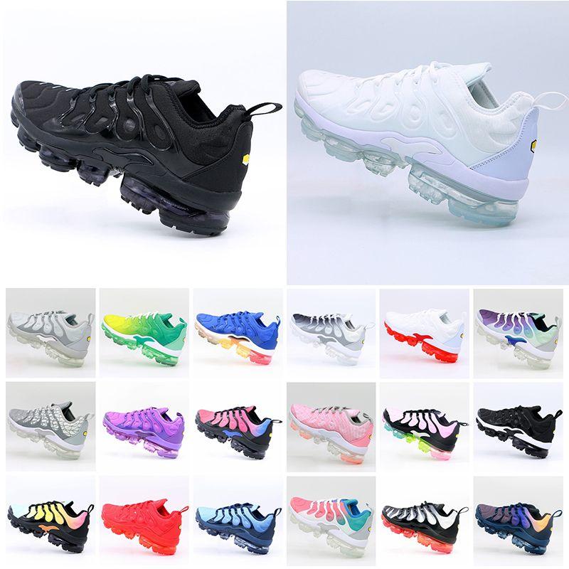 Vendita preferenziale TNS PLUS Ultra Running Shoe Zebra Classic Run Eset TN Cushion Scarpe Sport Shock Runner Sneakers Mens Donne Dimensioni 36-45