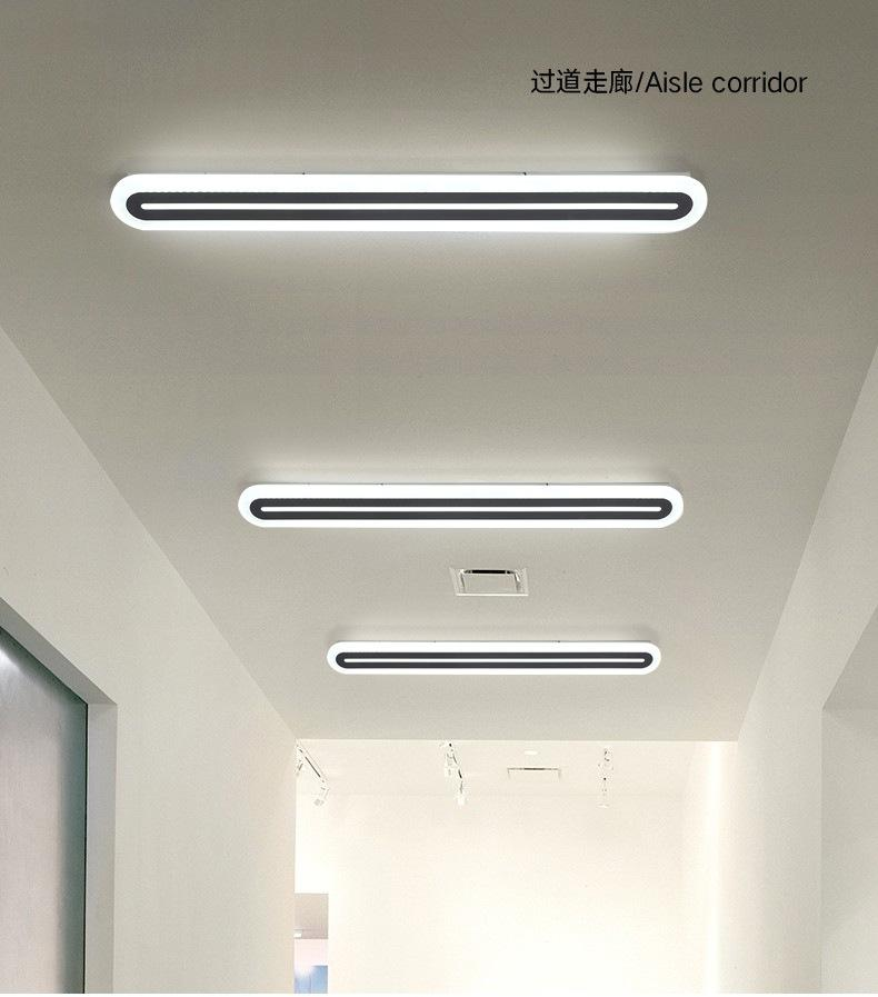 Ultra-thin ceiling light lamp LED long strip staircase corridor aisle bedroom bedside wall lamps modern minimalist line lighting R295
