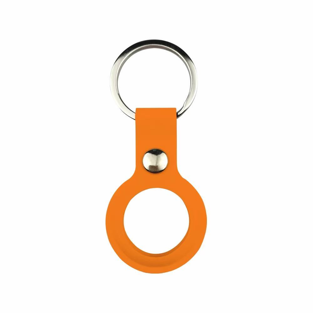 Weiche TPU-Silikon-Schleife Schutzfälle für Air-Tag-Tags Airtag Anti-Lost-Gerät Finder Keychain Tracker Protect Cover mit Schnalle kratzfest