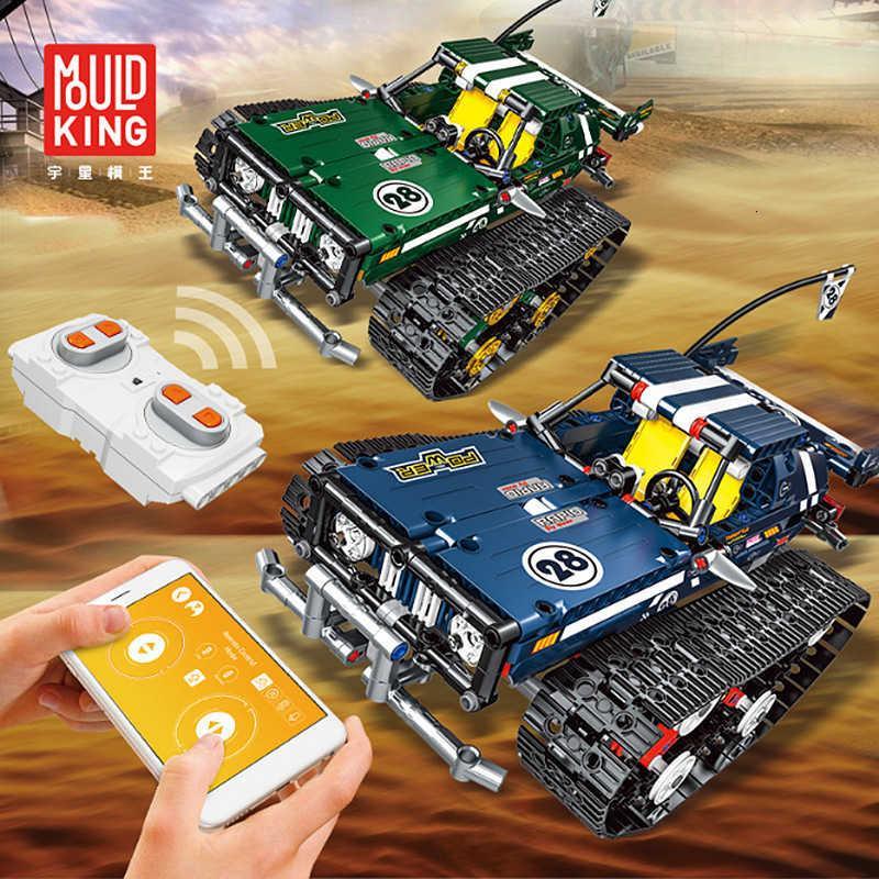Yuxing Remote Control Electric Racing Technology Boys Boys для высокоскоростной амортизаторный поглотительский гусеничный сборщик Сборные игрушки блока