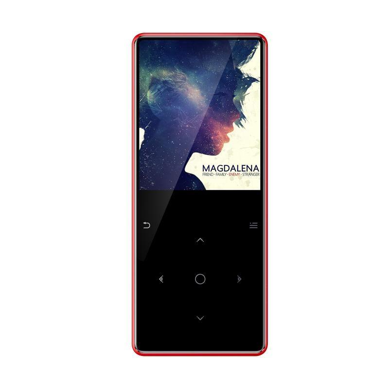 Jogador Construído Alto-falante Bluetooth 8G com Rádio FM / Portátil Slim Sem Lossos Música Música MP3 MP4 Players
