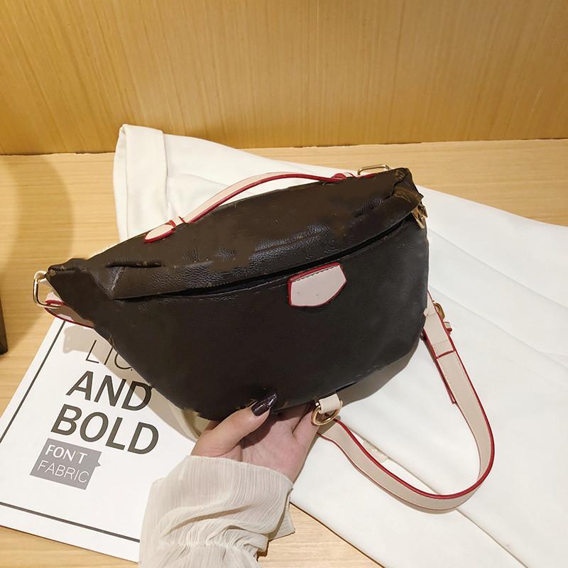 1-23 Marca Designer Mais Novo Corpo Ombro Saco Temperamento Bumbag Pack Cross Bum Cintura Bags661-3