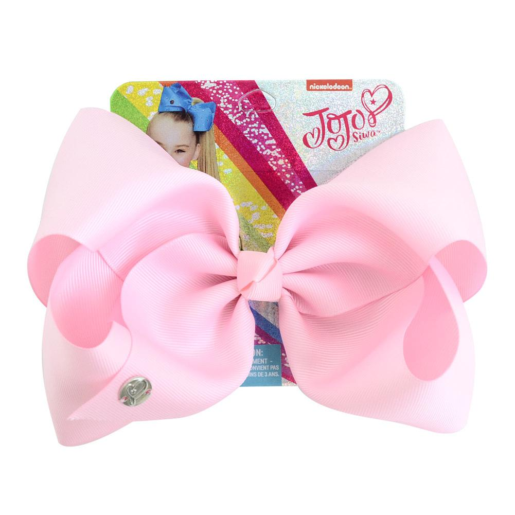 Baby girls LARGE 20cm BOW Barrette bowknot Kids sequin Ribbon Clips girl Children Hair Accessories fashion hairpins 20 Solid Colors KFJ134