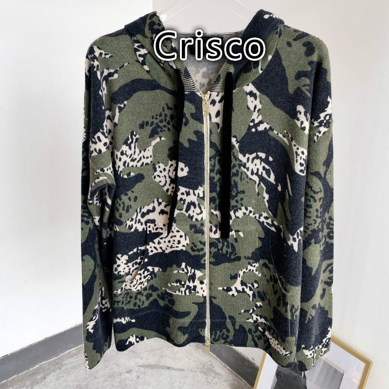 여성 스웨터 2021 가을 / 겨울 V 넥 위장 100 % 캐시미어 겨울 카디건 의류 여성의 니트 티셔츠