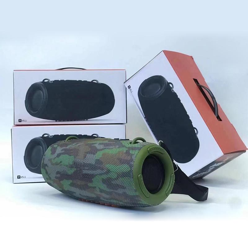 Top Vendeur grand taille XTREEM3 M3 MINI Portable sans fil Bluetooth haut-parleurs avec package Haut-parleur extérieur 4Couleurs 30.5 * 14 * 13.5cm