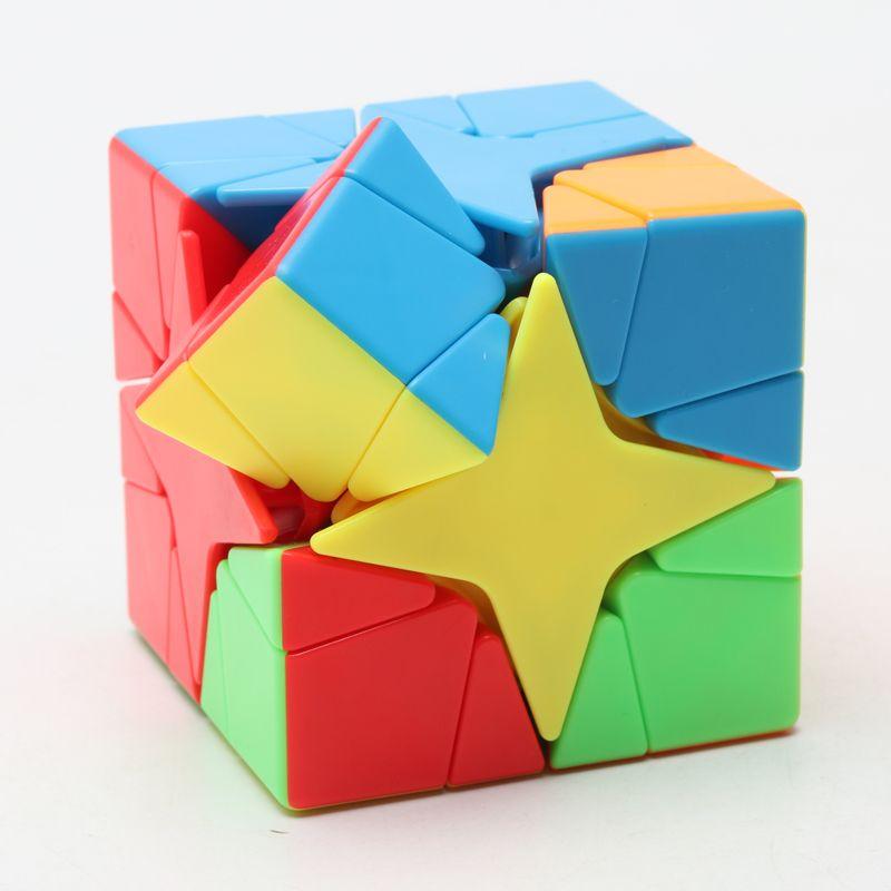 Moyu Cubing Classroom Meilong Polaris Magic Cube 3x3x3 Ahornblätter Skew Cube Spielzeug Für Kinder Twist 3D Smooth Antistress Spiel