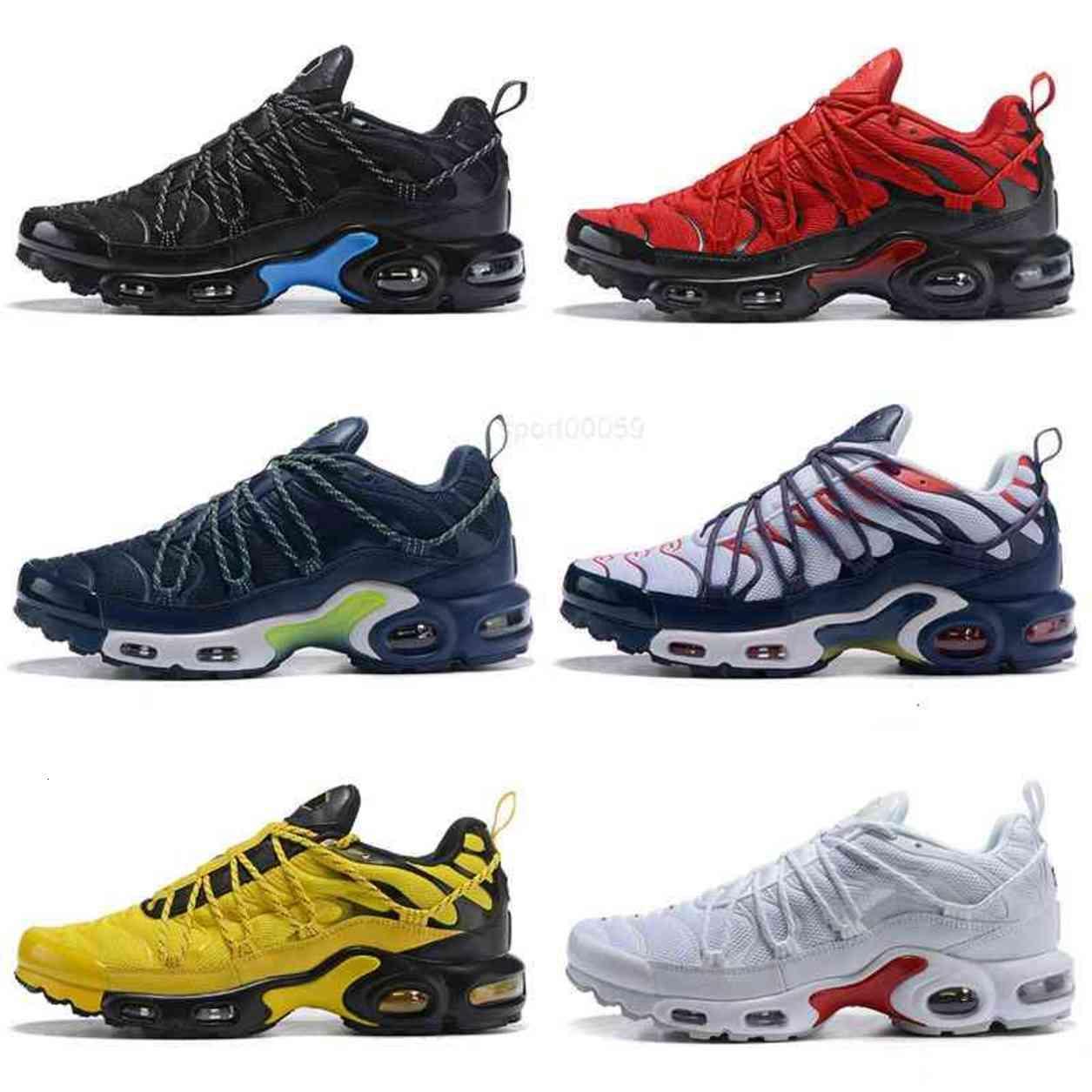 TN 1 زائد واحد أحذية أطفال كلاسيكية للنساء رجالي الأعلى القوليتي أسود أحمر رمادي chaussures الأزياء المدربين أحذية رياضية