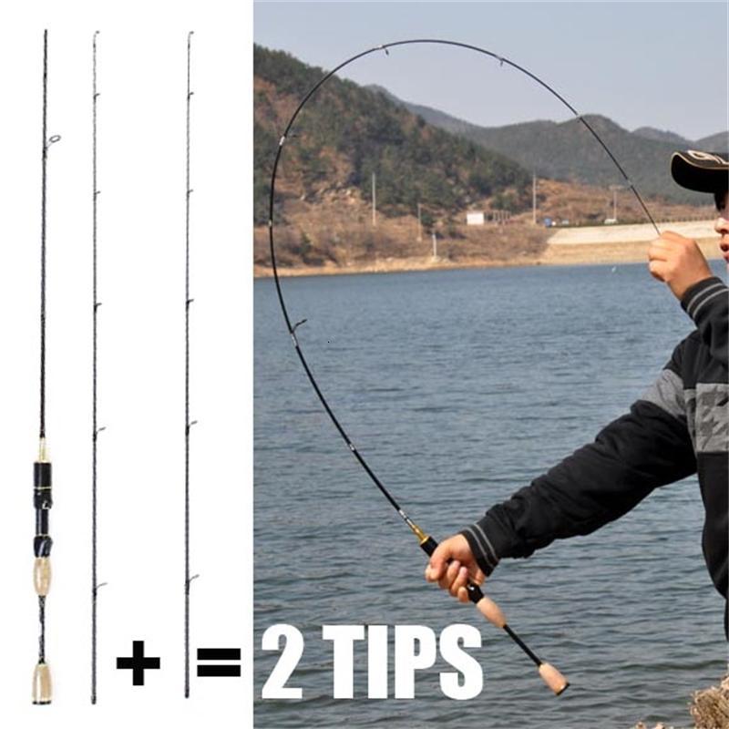 barato Haste de giro ul 1.8m 0.8-5g isca hastes de giro ultraleve 2-5lb linha peso ultra luz girando haste de pesca china