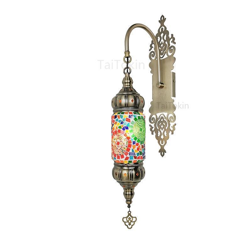 터키 특성 벽 램프 레트로 로맨틱 카페 레스토랑 엘 홈스테이 바 의류 매장 장식