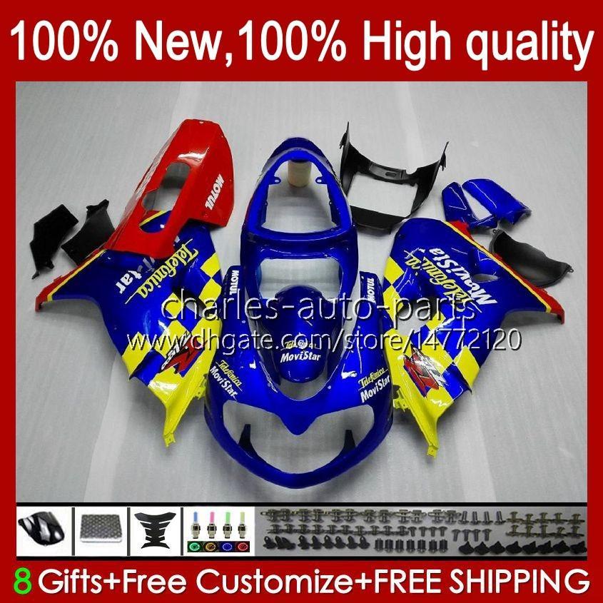 Suzuki Srad TL1000R TL 1000R Blue Glossy Stock TL1000 R 98 99 00 2001 2002 2003 바디 19HC.12 TL-1000R 98-03 TL-1000 TL 1000 R 1998 1999 2000 01 02 03 OEM 페어링 키트