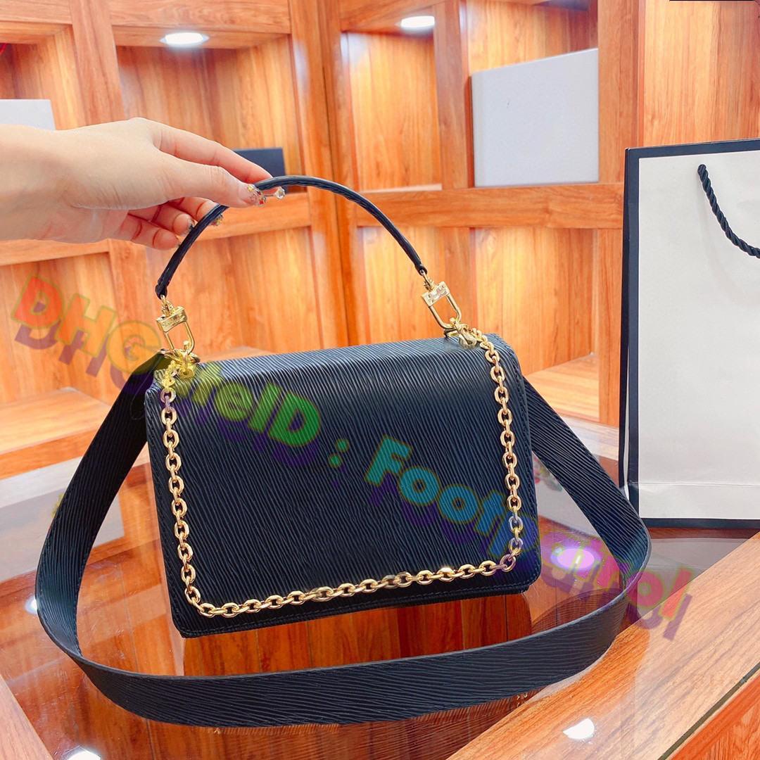 2021 Kadın En Kaliteli Messenger Çanta Tote Çanta Crossbody Çanta Deri Hobos Lady Moda Alışveriş Çantaları Luxurys Tasarımcılar Debriyaj Çanta Bayanlar Cüzdan