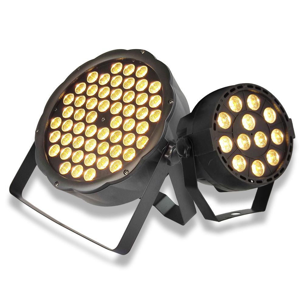 12/54W LED الدافئة الأبيض الاسمية ضوء dj wahs مصباح