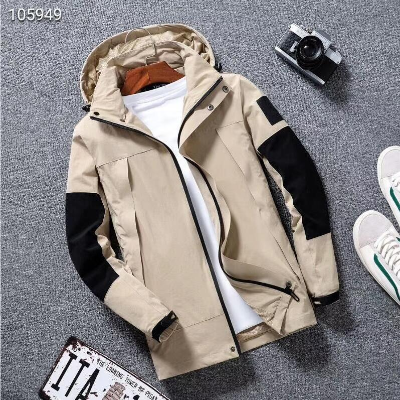 mens jacket women girl Coat Production Hooded Jackets With Letters Windbreaker Zipper Hoodies For Men Sportwear Tops Clothing