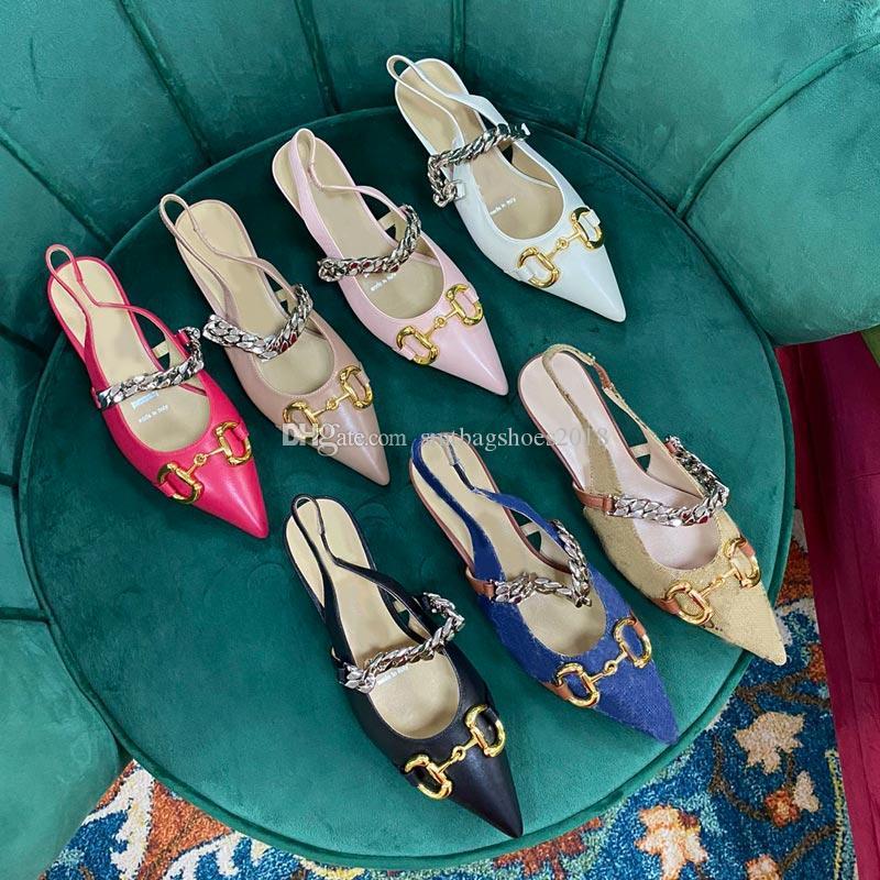 Classic Fashion 2021 Primavera Estate Estate 0.5cm Donne Sandali tacco basso Designer Beach Designer Sandalo Slidal Slidel Slides Flip flop Pantofole donna Designer di lusso Silde con scatola taglia 35-41