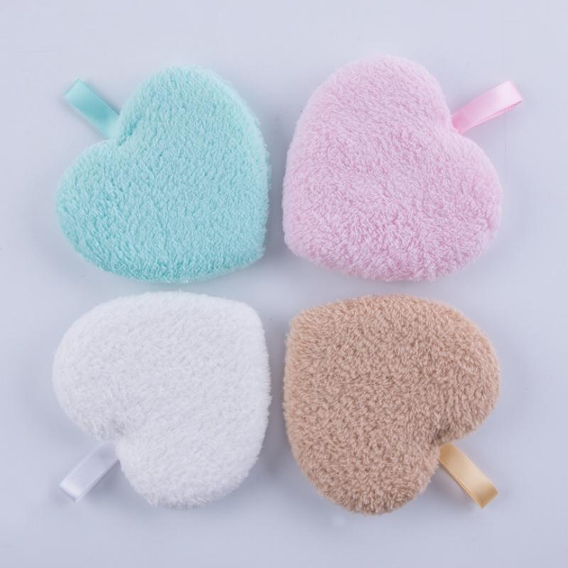 Губки, аппликаторы хлопчатобумажные удаления макияжа губчатая пепелька мытья чистка полюбов краенометражный мокрые лица мягкие 2 шт. Натуральные чистые инструменты