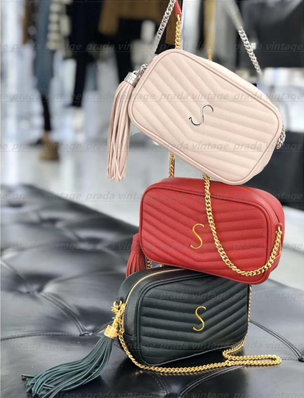 최고 품질의 정품 가죽 Lou 작은 카메라 숄더 백 여성용 남자 토트 크로스 바디 가방 럭셔리 디자이너 mylon 패션 쇼핑 지갑 케이스 카드 주머니 핸드백