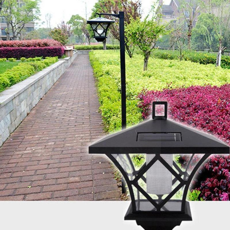 Lawn Lamps Height 150cm Outdoor Motion Sensor Solar Powered Led For Garden Wall Working Light Lamp Street Mode Pole Post So I8j8