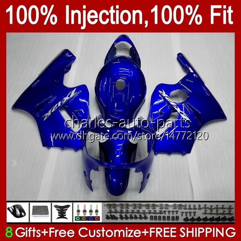 100% FIT Injektion för Kawasaki ZX1200 C ZX 1200 12R 1200cc 00 01 48HC.23 ZX 12 R ZX12R 00 01 Stock Green ZX-12R 2000 2001 OEM Fairing Kit