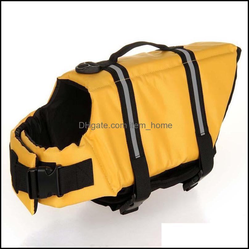Dog Supplies Home & Gardendog Apparel Puppy Rescue Swimming Wear Safety Clothes Vest Suit Xxxs-Xxl Outdoor Pet Float Doggy Life Jacket Vests