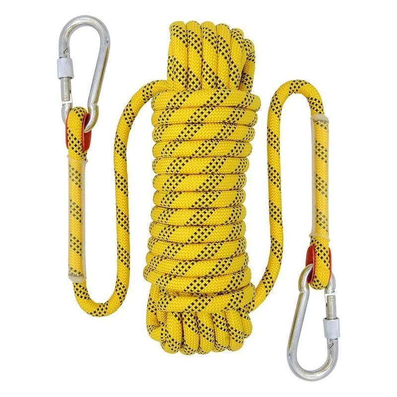 Cordones, eslingas y correas de 20 m de escalada al aire libre Diámetro de la cuerda de escalada 12 mm Accesorios de senderismo de alta resistencia Lifeline de seguridad de alta resistencia Ye