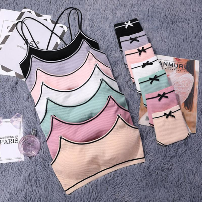 BRAS conjuntos lingerie japonês conjunto de algodão fino rosca fina push up bra beleza back mulheres calcinha conforto cueca