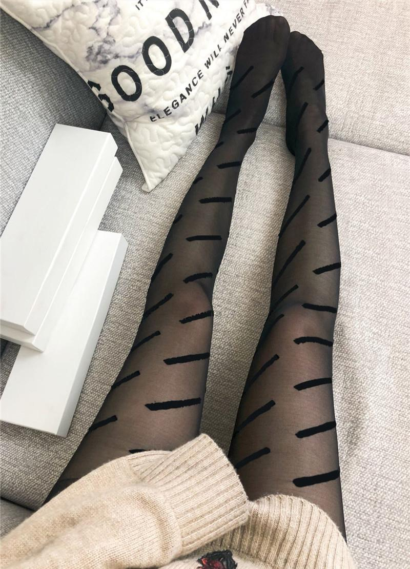 Fashion Style Tights Silk Smooth Sexy Luxury Women's Stockings Outdoor Mature Brand Dress Up Stockings Free