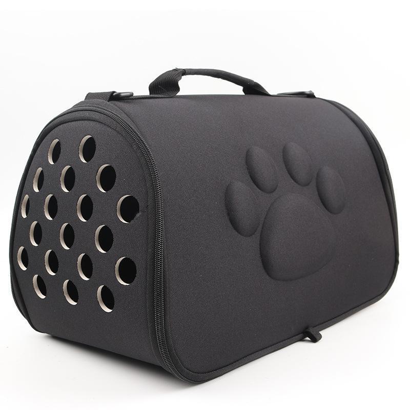 Portador de gatos Bolsa de perro Mochila portátil Puppy Productos para mascotas EVA plegable Transporte transportable transportable Portadores, Cajas