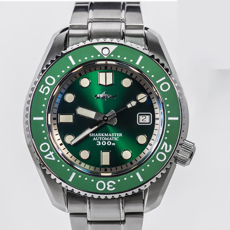 Heimdallr İzle Erkekler SBDX 001 Mekanik İş BGW-9 Aydınlık Eller için 20bar Su Geçirmez Çelik Dalış Saatleri Saatı