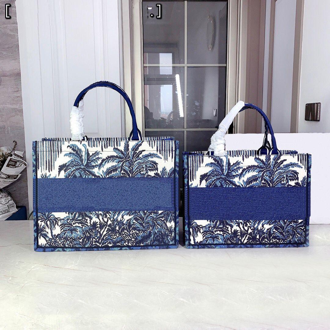 2021 디자이너 totes 어깨 가방 여성의 럭셔리 클래식 편지 인쇄 쇼핑백 패션 고품질 핸드백