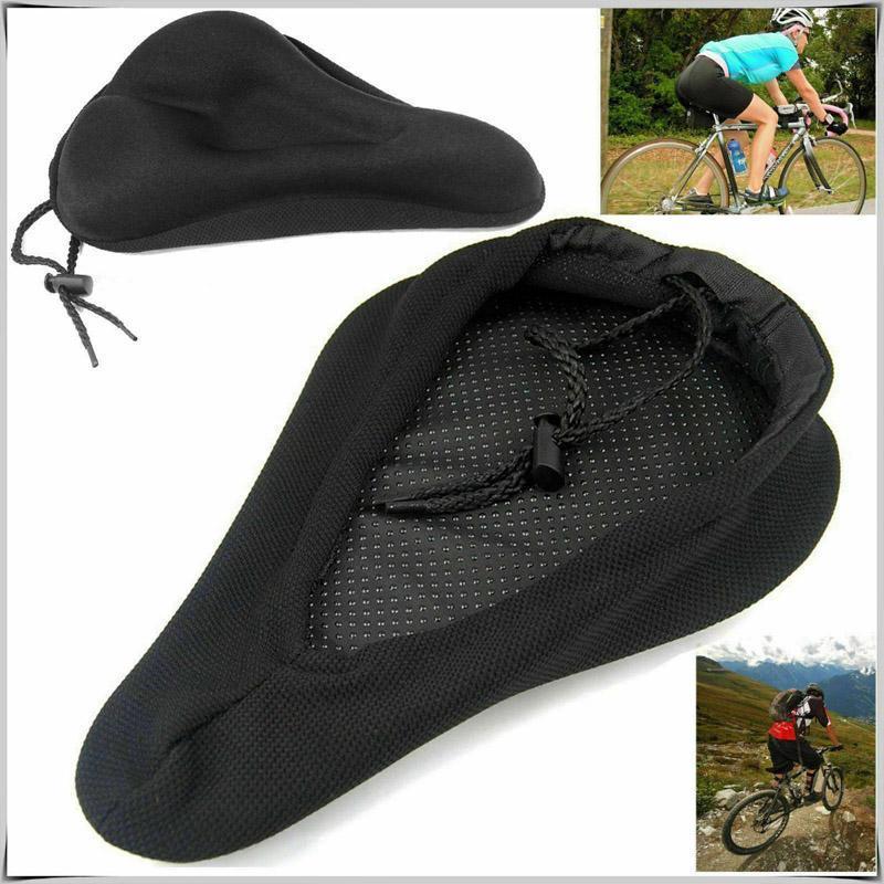 Selle à vélo siège de vélo de bicyclette respirant couverture selle coussin de mousse cyclisme cyclisme coussin accessoires extérieurs