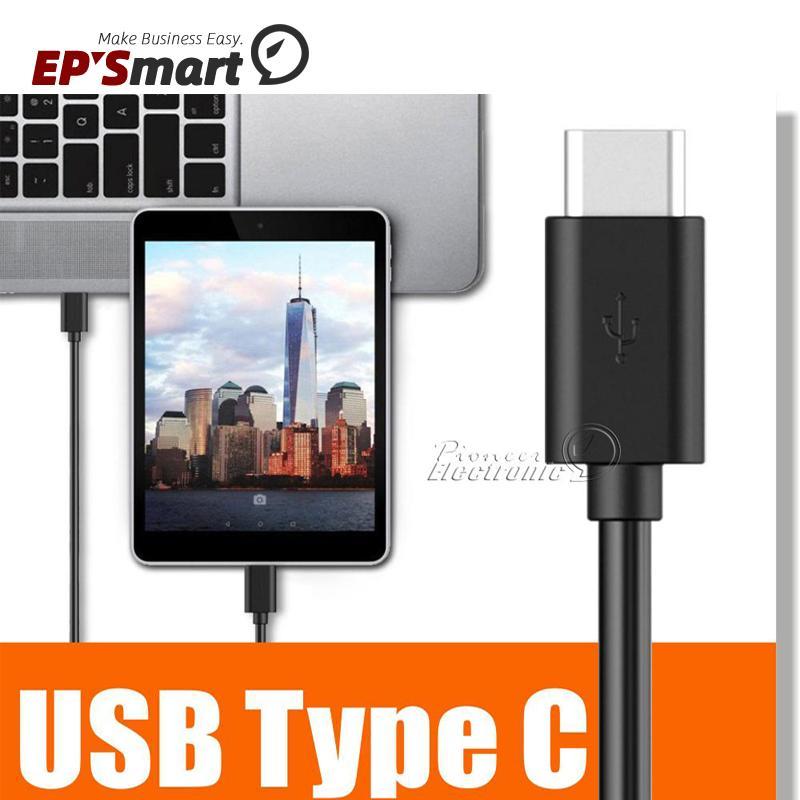 شاحن الكابلات 3ft 1 متر عالية السرعة usb 2.0 نوع c الهواتف المحمولة كابلات محول البيانات المعادن التوصيل سريع شحن الهاتف لالروبوت Samsung Galaxy S20 S21 Huawei Mate 40 Pro LG
