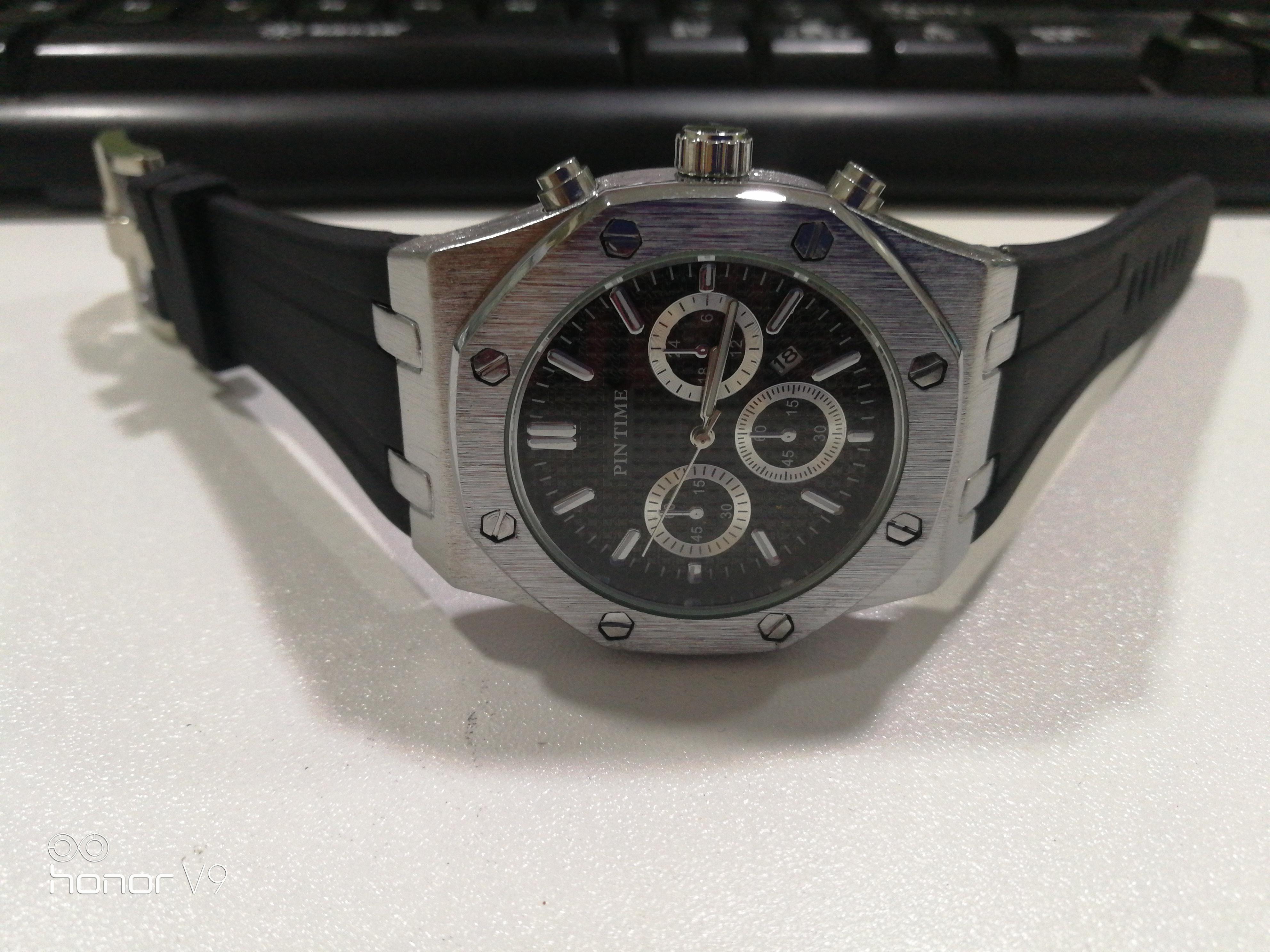 Wholesale мужские часы классический дизайн мужские часы кварцевые движения спортивные наручные часы подарочные часы удобный резиновый ремешок Orologio
