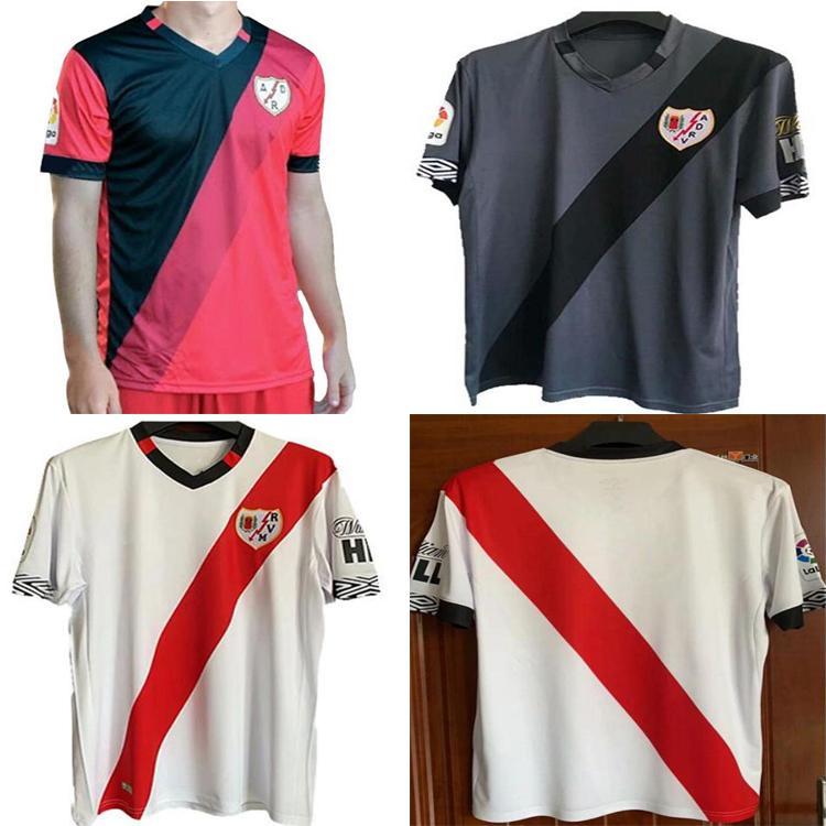 2021 22Atão Vallecano Futebol Jerseys Home Away Andres Alvaro Football Jersey Trejo Isi Antonin Camisetas Pozo Santi uniformes Camiseta de Abeja