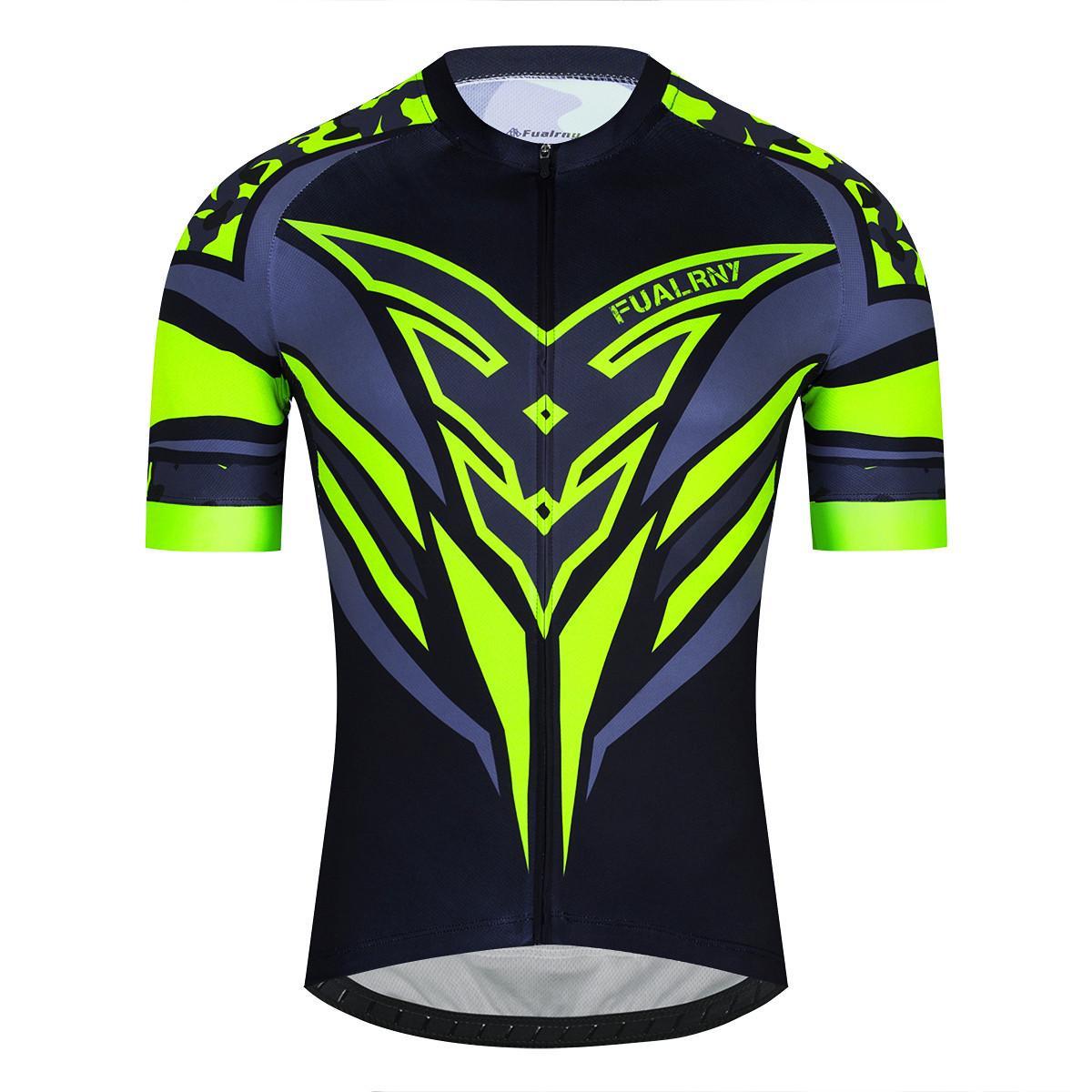 2021 Новое Прибытие Pro Команда Men Велосипедные Джерси Велосипед Велоспорт Одежда Топ Качества Цикл Велосипед Спорт Спорт Спорт Ciclismo Для MTB X0523