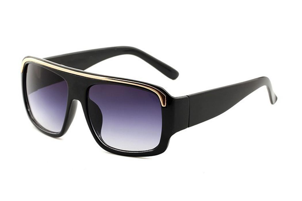مصمم النظارات الشمسية عالية الجودة ماركة نظارات خارجية المظلة إطار الأزياء السيدات الكلاسيكية الفاخرة 290 نظارات الشمس الظل مرآة النساء