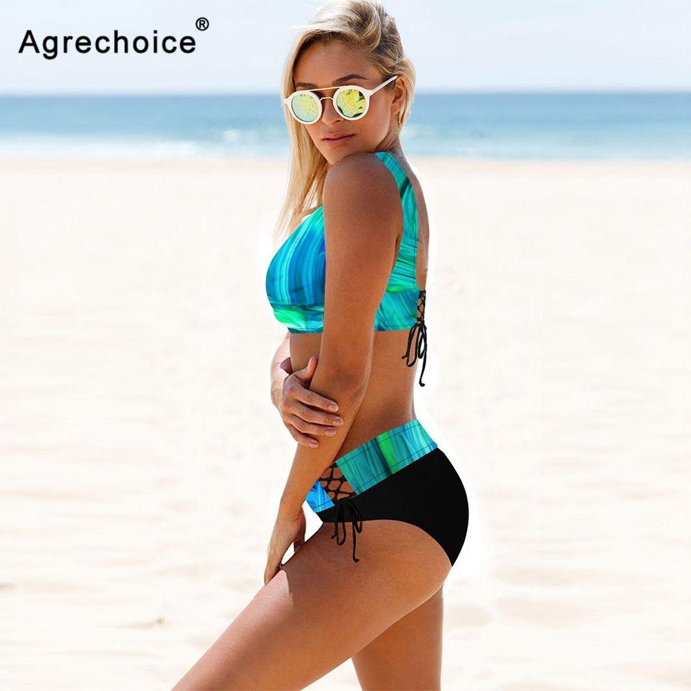 Plus Size Bikini Frauen 2021 Sexy Swimwear Push Up Badeanzug Hohe Taille Bikini Set Brazilian Badeanzug Beachwear Schwimmen Anzug 210419