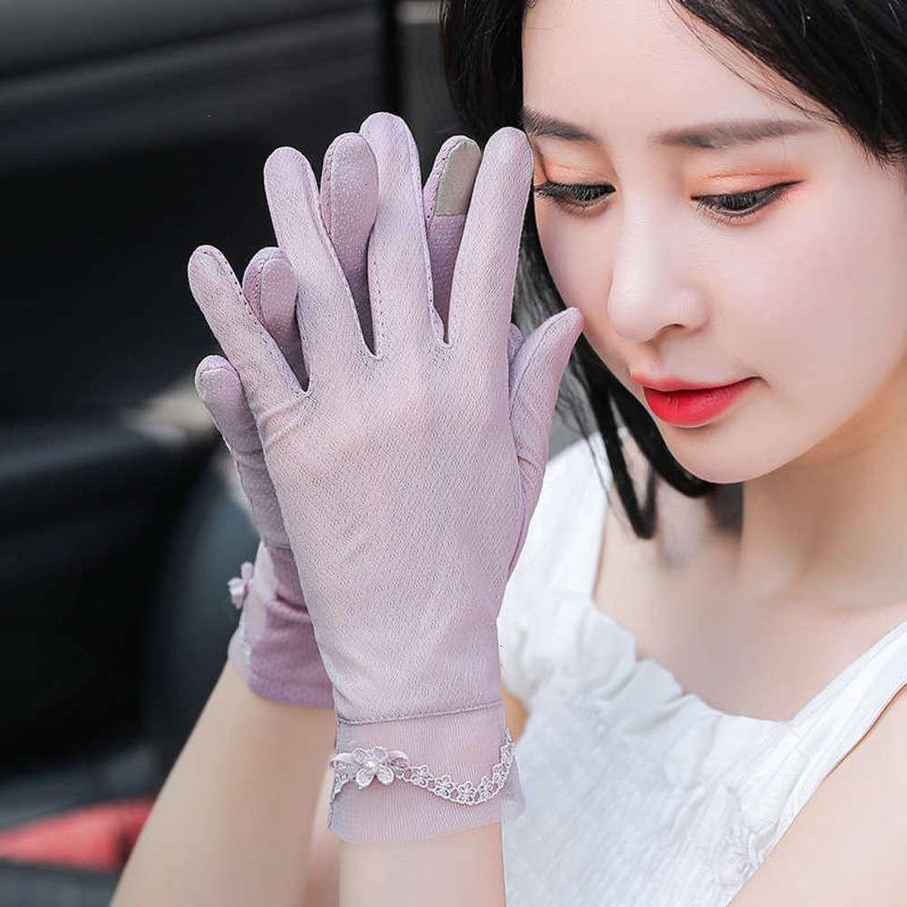 Mitaines de printemps mittens mince crème solaire et automne Courtes gants de cyclisme d'été, conduisant la femme Scarlet Sorcière Taille One