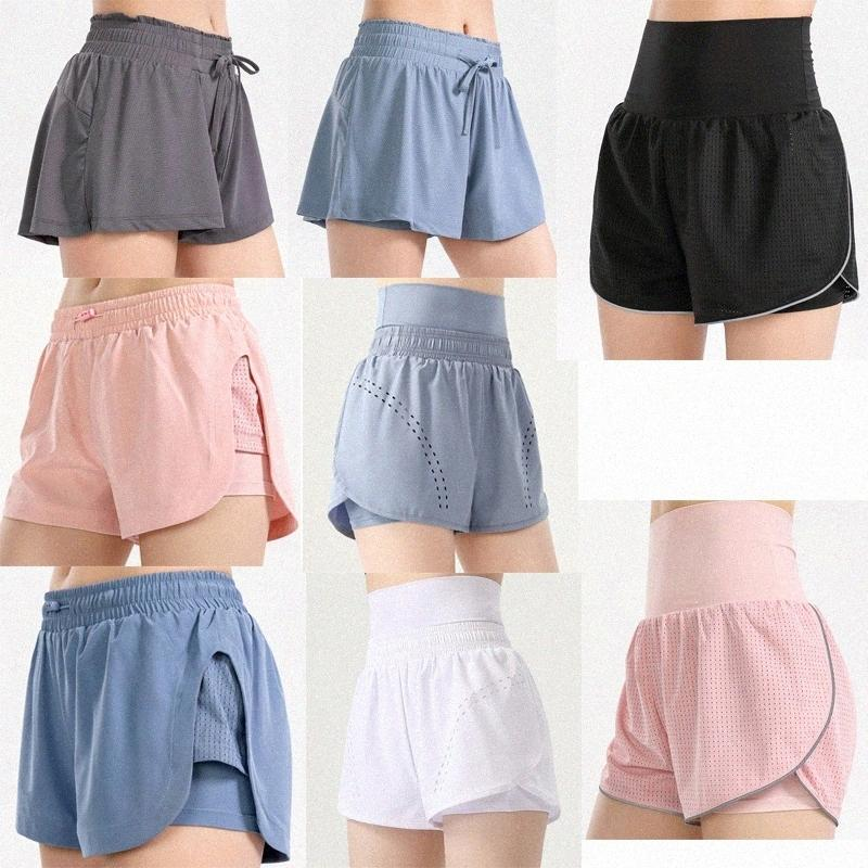 3 Styles Lu Vfu Femmes Leggings Shorts de yoga Shorts de Yoga Pantalons de Thigh Designer Taille High Women Women Women Women women worc