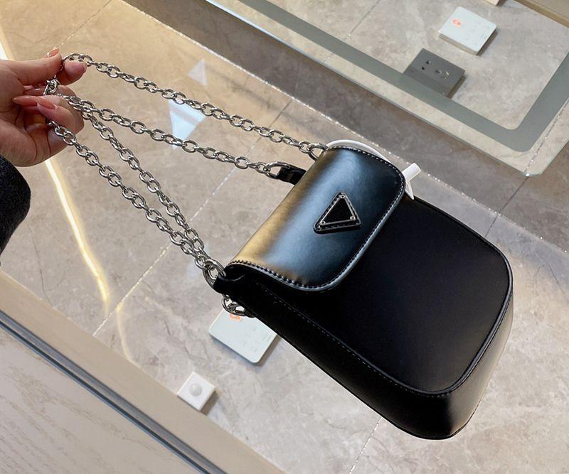 2021 designer de marca de ombro moda feminina moda luxo cadeia de telefone celular sacos de axila com caixa tamanho 13 * 18cm