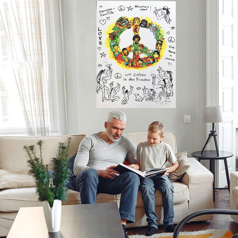 Hayat Büyük Yağlıboya Tuval Üzerine Ev Dekor El Sanatları / HD Baskı Duvar Sanatı Resimleri Özelleştirme kabul edilebilir 21070707