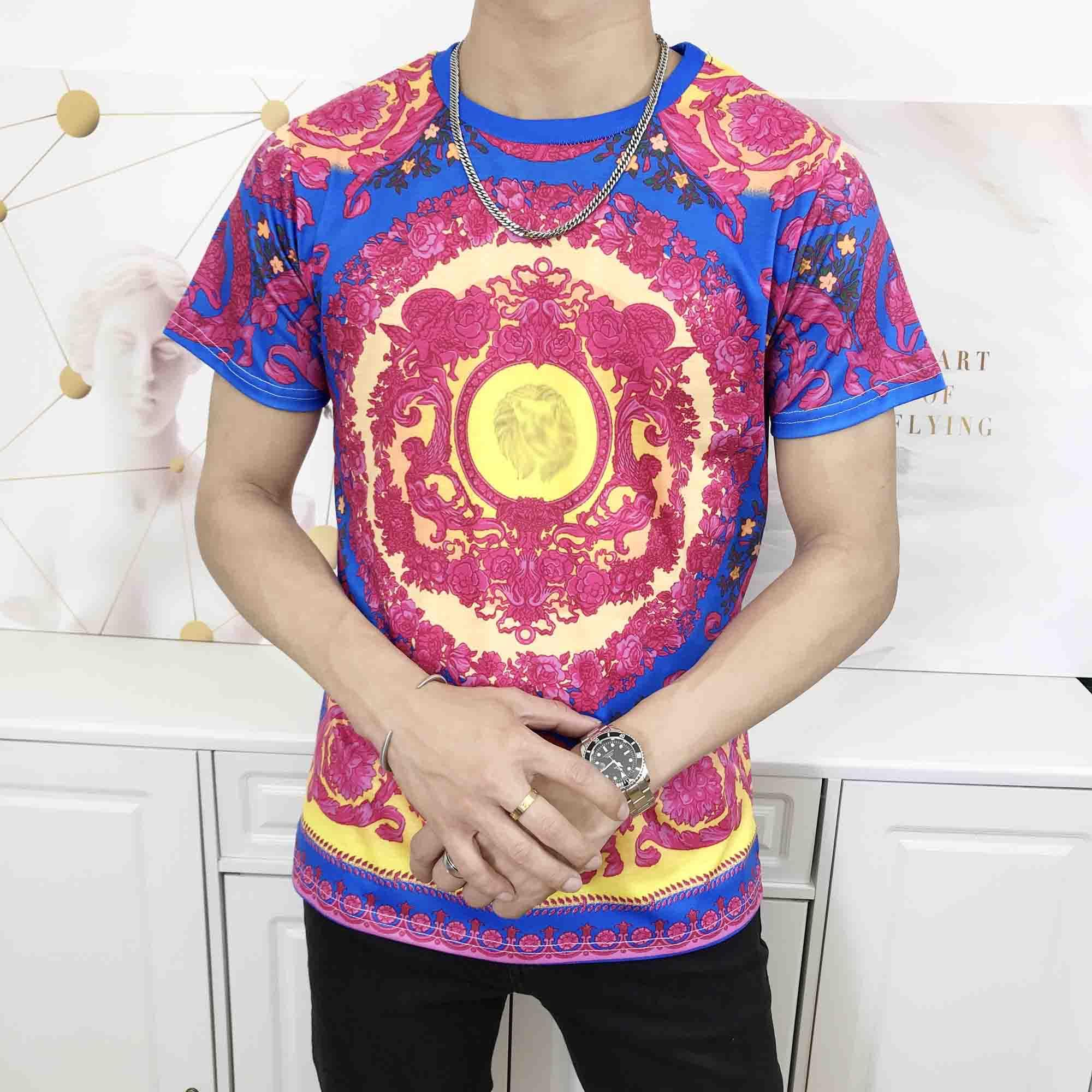 20ss Men Designer T Shirt with Letters Fashion Summer Tee Shirts for Women Casual Short Sleeve Homme Clothes 2 Styles