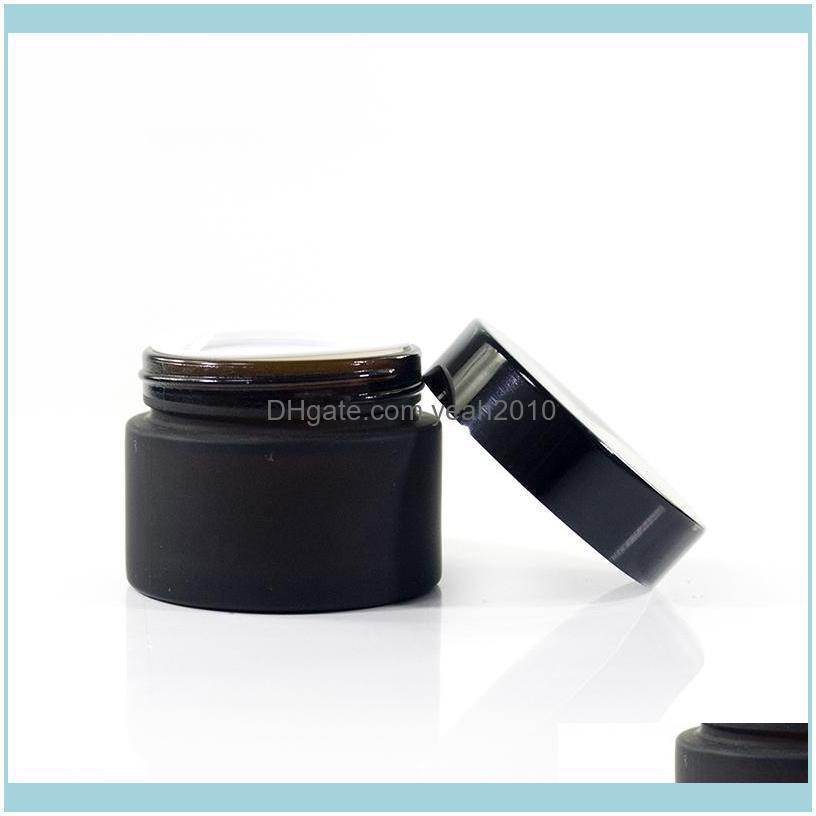 Frascos frascos Armazenamento Arrumação Organização Home GardenFace Recipiente de vidro Jar Cosmetics Packag Gota entrega 2021 Arpqu